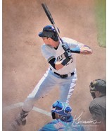 Christian Yelich Milwaukee Brewers NL MVP Classic Print from Oil Various... - $4.99+