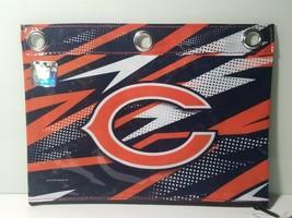 Chicago Bears Pencil/Pen Holder, Zipper Pulls, Rivet Enforced 3 Rings - $7.66