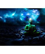 BUDDHA POSTER - STARS - 24  X  36 INCH meditation, man cave, motivation, art - £14.54 GBP