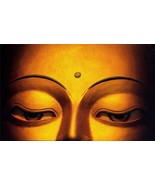 BUDDHA POSTER - 24  X  36 INCH meditation, man cave, motivation, art - £14.52 GBP