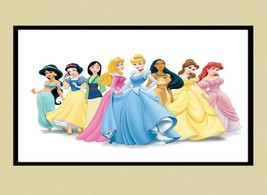 Disney Poster 24 X 36 Inch Princess Group Wall Art, Decor, Disneyland - $18.99