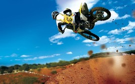 Dirt Bike Motocross Motorcycle 24 X 36 Inch Poster | Wall Decor | Man Cave - $18.99
