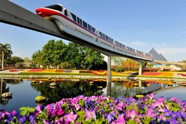 Disney World Poster Monorail 24 X 36 Inch Mickey Mouse, Disneyland - $18.99