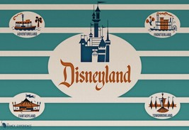 Disneyland Attraction Poster Sign 24 X 36 Inch Mickey Mouse, Disney World - $18.99