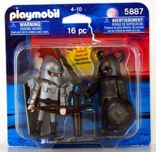 Playmobil Iron Knights 16 piece Set 5887 two pack - $6.95