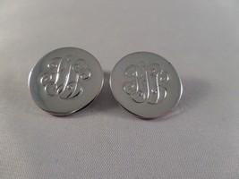 Vintage Coro Silver Tone Clip Earrings R5 - $5.93