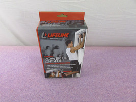 Lifeline Portable Power Up Chin Up Suspension Grips - Sealed in Box - $15.90