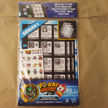 Yo-Kai Watch Medallium Collection Book Binder Pages Series 1 BEETALL Med... - $6.99