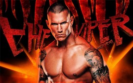 Randy Orton Wwe 24 X 36 Inch Large Poster Decor, Man Cave, Garage, - $18.99