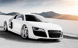 SUPER AUDI R8 V10 18X24  24 X 36 INCH POSTER sports car, garage, man cave - $18.99