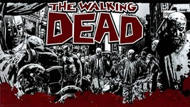 THE WALKING DEAD ANIMATION 24 X 36 INCH LARGE POSTER man cave, amc, movie - $18.99