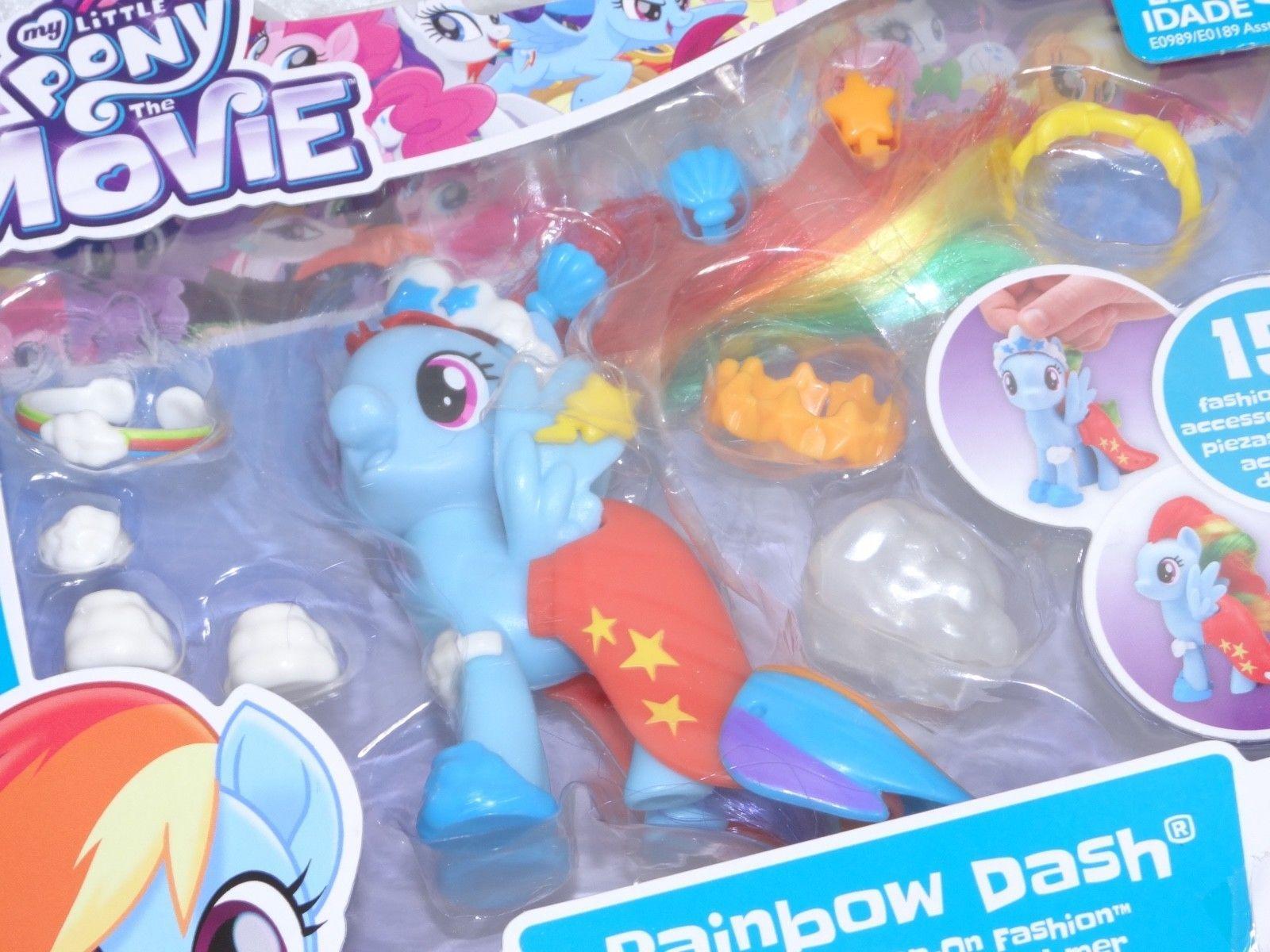 My Little Pony The Movie Rainbow Dash Land of Sea Snap On Fashion