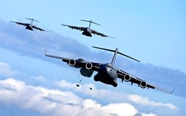 Us Cargo Airplane Poster 24 X 36 Inch Aviation, Military, Man Cave Decor, Garage - $18.99