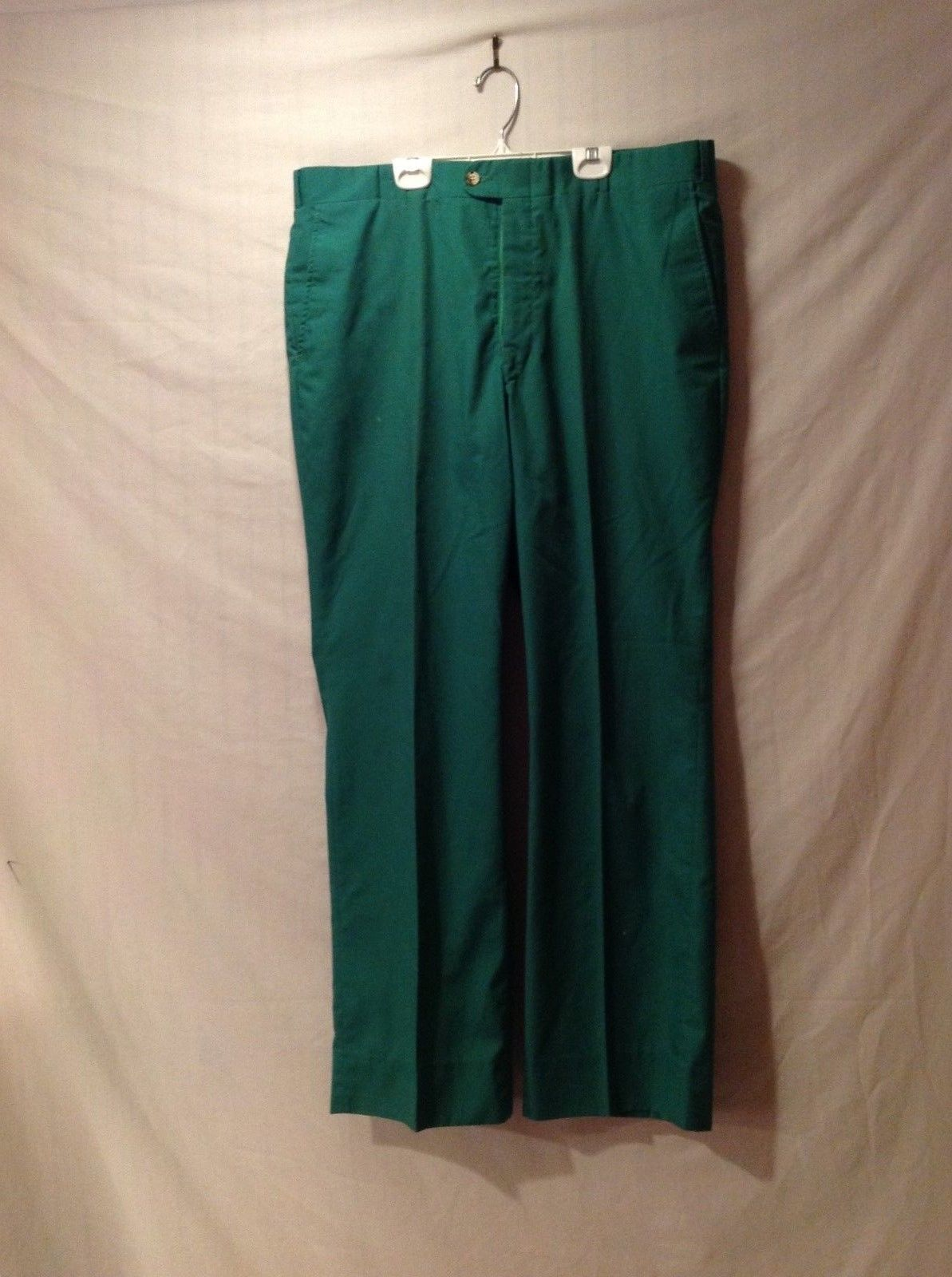 Mens' GEOFFREY BEENE Green Dress Slacks in Excellent Condition