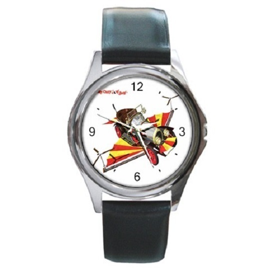 Chitty Chitty Bang Bang Unisex Round Metal Watch Gift model 17649512