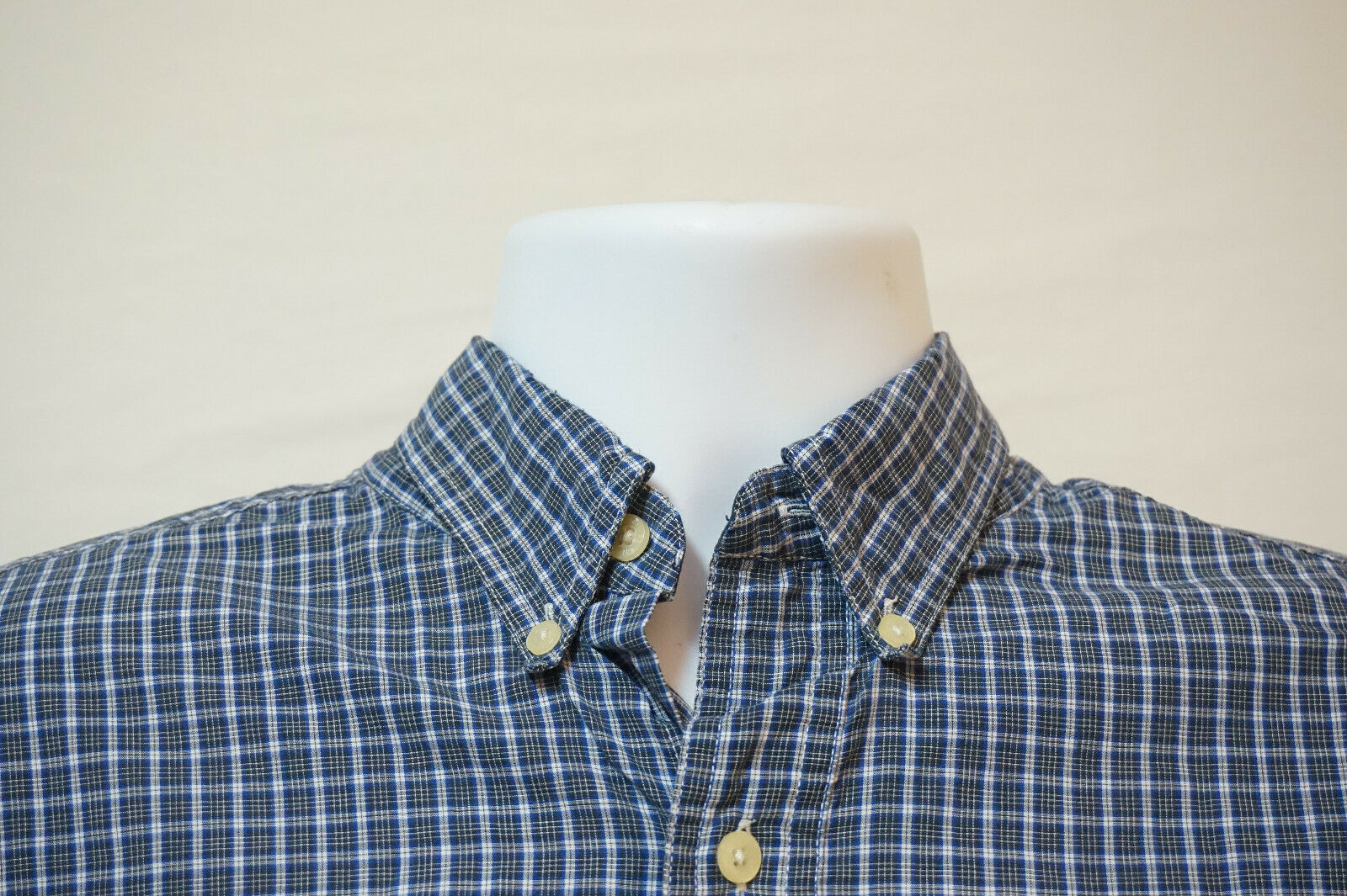 Primary image for Chaps Ralph Lauren Midweight Button-Front Shirt, Excellent, Men's Large 1040