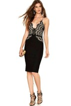 Black Sexy O-Neck Sleeveless A-Line Club Dress - $24.95