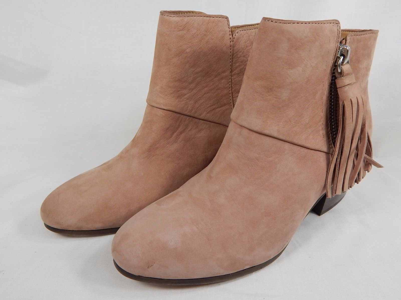 Coach Pricilla Ankle Suede Booties Women's Size US 5 M (B) Pink $268