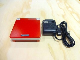 Nintendo Game Boy Advance GBA SP System AGS 001 Red + Silver MINT NEW - $91.29