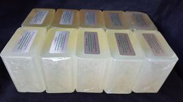 10 lb HEALING ALOE VERA GEL Melt And Pour Soap Glycerin Base 100% Natural BULK - $43.95