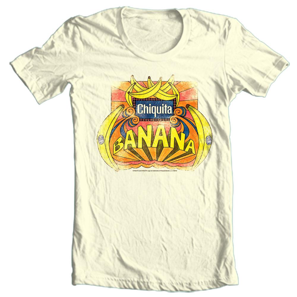 Chiquita banana tshirt chq123