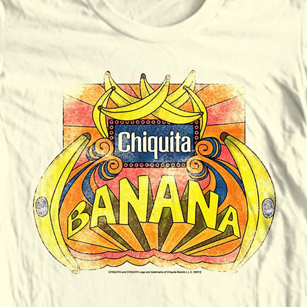 Chiquita banana t shirt chq123