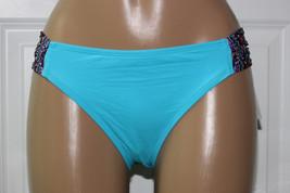 NEW Lucky Brand Global Mix 358251 Tab Sides Hipster Bikini Bottom L Large - $9.68