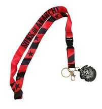 Sons of Anarchy Logo Red Lanyard Keychain ID Ba... - $6.94