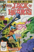 Marvel JACK OF HEARTS #2 FN+ - $0.69