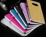 S6 Edge Plus Sparking Glitter Cases Fashion Ultra Thin Full Body Crystal Hard Ph