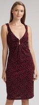 Diane Von Furstenberg Ercury Black Raspberry Wings Dress - Us 6 - Uk 10 - $84.15