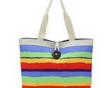 Ashion striped canvas bag casual shoulder bag handbag totes wholesale high quality thumb155 crop