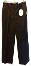 LIZ CLAIBORNE Womens Dress Pants Sophie Black Secretly Slender Size 4 NWT - $19.95