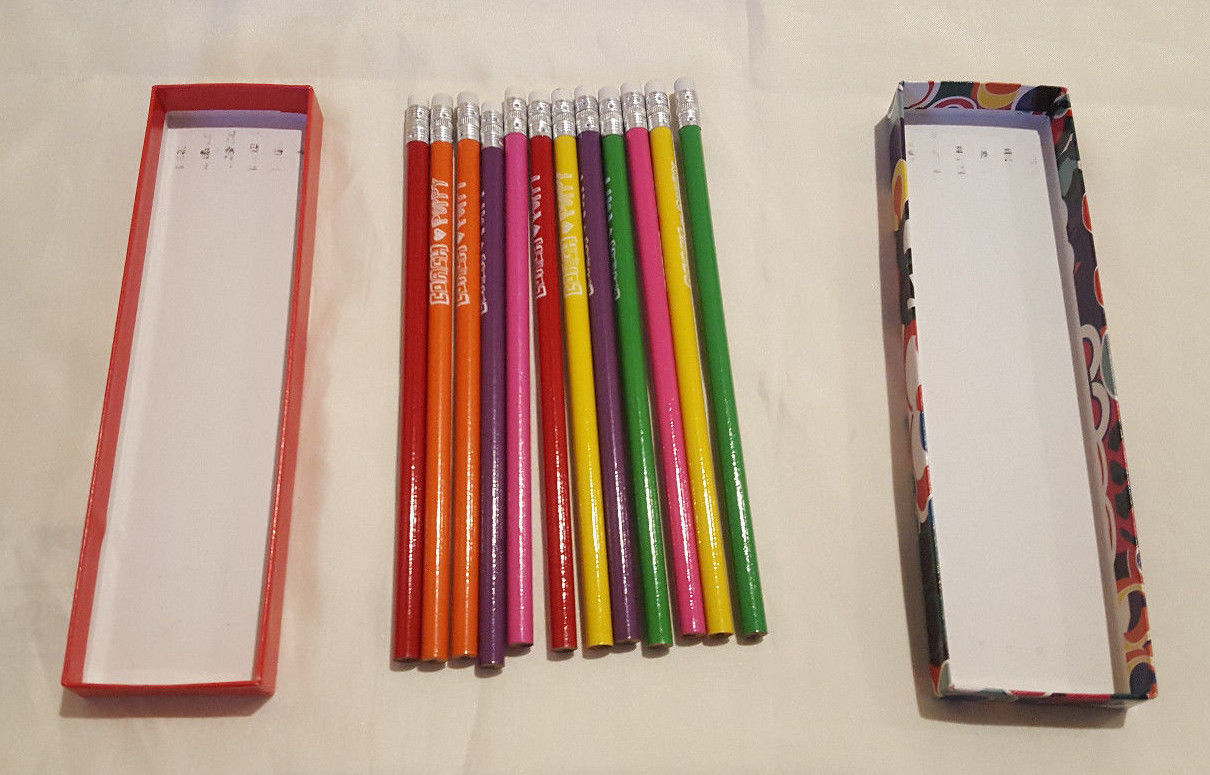 Coach Poppy Pencil Set in box - 12 Pencils image 5