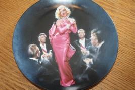 Chris Notarile Marilyn Monroe Sings  Diamonds Are a Girl's Best Friend Plate - $19.99