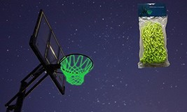 MCNICK & COMPANY Glow in The Dark Outdoor Basketball Net Rim Hoop Heavy ... - $26.70