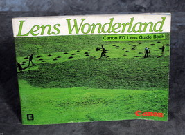 Lens Wonderland Canon FD Lens Guide Book 1982 Original Lenses Booklet - $8.00