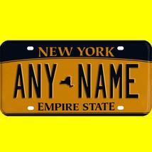 1/43-1/5 scale custom license plates any brand RC/model car - New York tag - $11.00