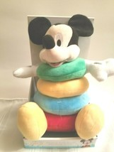 Disney Baby Mickey Mouse Plush Stacking Rings - $19.99
