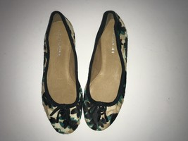 Coach Green, Black, Brown and Beige Flat Shoes - $65.00