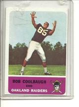 (B-1) 1962 Fleer Football #69: Bob Coolbaugh - $8.00