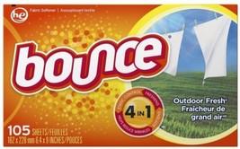 Bounce Fabric Softener-Sheet 105 Count Fabric Softener - $5.69