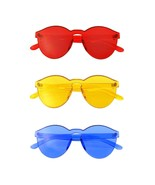 Bundle Of Sunglasses In A Bundles 3 Pairs Of Red Mens Womens Sun Glasses... - $22.57