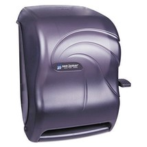 San Jamar T1190TBK Lever Roll Towel Dispenser, Oceans, Black Pearl, 12 1... - $51.24