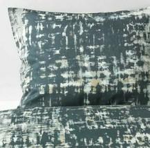 Ikea Skogslonn Full/Queen Duvet Cover 2 Pillowcases Black Gray Multicolo... - $58.19