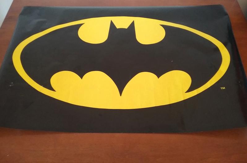 Vintage Batman Bat Symbol Movie Poster And Similar Items