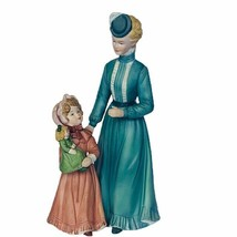 Homco figurine Victorian mothers day gift decor sculpture Home interior doll vtg - $49.45