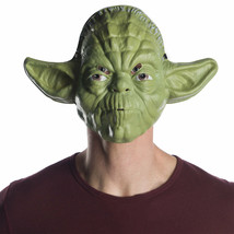 Star Wars Yoda Vacuform Halloween Costume Mask Green - $19.98