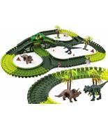 Dinosaur World Car Track Set- Dinosaur Toys for Kids, Children- 240 Flex... - £23.10 GBP