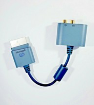Genuine Microsoft Xbox 360 Audio Adapter SPDIF Optical Analog OEM Output Cable - $6.60